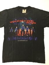 Vtg 90s Backstreet Boys Concert Band Tour T Shirt M Vintage Black