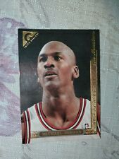 1995-96 Topps Gallery #10 Michael Jordan The Masters Chicago Bulls