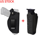 Tactical Pistol Holster IWB OWB Holster with Molle Pistol Single Magazine Pouch