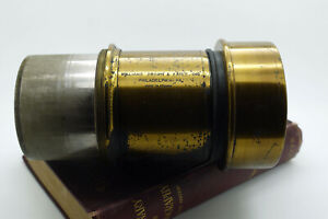 Vintage Williams, Brown & Earle F3.2 152mm Petzval lens 4x5 - Made in France -