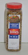 Tone's Canadian Steak Seasoning NO MSG Net Wt. 28 oz (1.75lb) 794g New