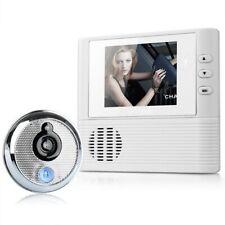 Peephole Video-eye Security Night Vision Camera Door Bell 2.8 Lcd Digi 3 Aaa