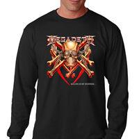 MEGADETH KILLING IS MY BUSINESS '85 Men's Long Sleeve Black T-Shirt Size S-3XL