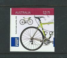 AUSTRALIA 2015 BICYCLES, CYCLING SELF ADHESIVE INTERNATIONAL STAMP FINE USED