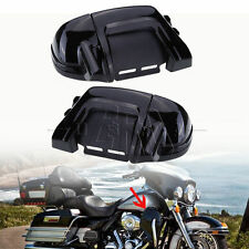 Pair Lower Vented Leg Fairings Glove Box For Harley Touring Road Electra Glide