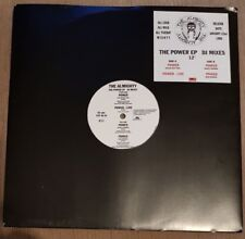 "THE ALMIGHTY - The Power EP DJ Mixes ~12"" Vinyl Single *PROMO*"