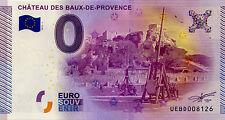 BILLET 2015 ZERO EURO SOUVENIR 13 BAUX DE PROVENCE CHÂTEAU BANKNOTE EURO SCHEIN