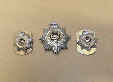 Military Badge: Royal Corps of Transport, badge and Collar Dogs, Queen's Crown