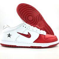 Nike SB Dunk Low OG QS Supreme Varsity Red White CK3480-600 Men's 7-12