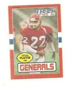 1985 Topps USFL Doug Flutie, #80, Generals