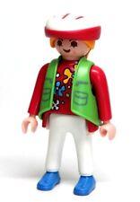 Playmobil Figure Dollhouse Sports Woman Bike Rider w/ Bicycle Helmet 3068