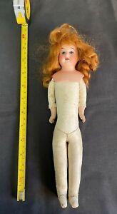 Armand Marseilles Porcelain + Leather 5/0 Doll - Antique