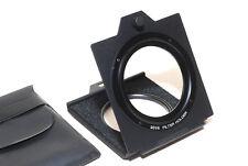 Hoya Japan 75x75mm Gelatine Filterhalter 55mm / technical holder (NEU/OVP)