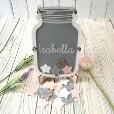Grey and White Reward Jar • Reward Chart • Children's Personalised Gift