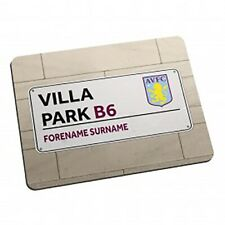Aston Villa F.C - Personalised Mouse Mat (STREET SIGN)