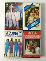 ABBA Music cassette tape, set of 4 Japan Product