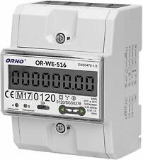 Stromzähler Hutschiene 3-Phasen-Anzeige des Stromverbrauchs mit MID Zertifikat