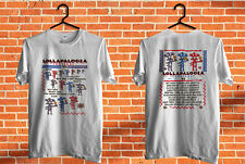 Vintage Rare 1992 LOLLAPALOOZA Shirt Red Hot Chili Peppers Ministry Rare Reprint