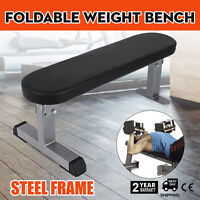 Foldable Power Block Travel Weight Bench Portable AB Abdominal Training Fitness
