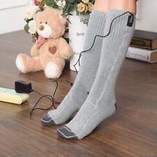 5V USB Electric Heated Socks Kit Cold Feet Winter Foot Warmer Heated Insoles