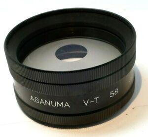 Asanuma V-T 58 Special Effect AUX Lens With 55mm Thread Soft Focus Portraiture