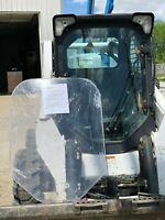 Bobcat M Series S510 to S870 or T450 to T870 LEXAN Forestry Demo Door Skid Steer