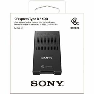 Sony MRW-G1 CFexpress Type B / XQD Memory Card Reader USB 3.1 Gen 2 ( Black )