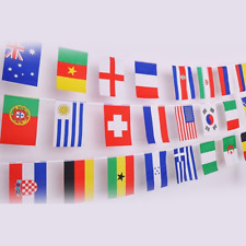IsPerfect International String Flags Banners-Countries Flags World Flags Pennant