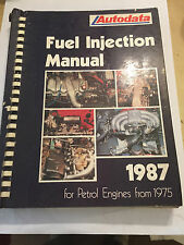 1975-1987 AUTODATA FUEL INJECTION SYSTEMS MANUAL ALFA CITROEN FIAT VOLVO SAAB VW