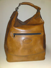 Vintage 70er XL Shopper / Weekender braune Kunstleder Reisetasche top Zustand!