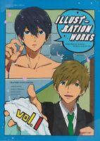 TV Animation Free! -Eternal Summer- Illustration Works vol.1 (Art Book) Japan