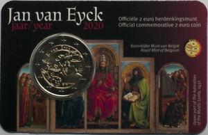 Belgium 2 euro 2020 Jan van Eyck (type NL) (#7315)