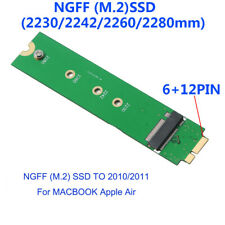 M.2 SSD To A1370 MC965 MC968 Adapter For MacBook Air 2010 2011 Solid State Drive