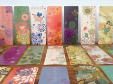 Set of 30 'Free to Fly'  Colourful Bird Floral Themed Bookmark Present Topper