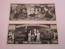 The MUNSTERS TV Show $1,000,000 One Million Dollar Bill: United States USA Trust