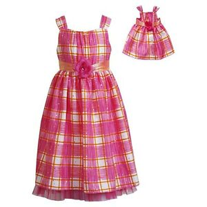 """New DOLLIE ME GIRL Dress Outfit SZ 7 8 10 12 FITS AMERICAN GIRL Other 18"""" Dolls"""