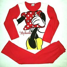DISNEY pyjama fille MINNIE rouge et blanc taille 5-6 ans silhouette