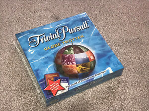 TRIVIAL PURSUIT GLOBE TROTTER EDITION - BY PARKER  - NEW & SEALED (FREE UK P&P)