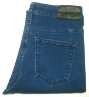 RIDERS BY LEE WOMENS SIZE 8 MEASURED W24 X L32 MID SKINNY BLUE JEANS FREE POST