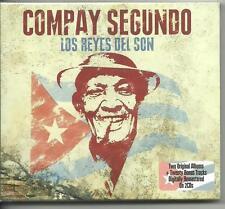 COMPAY SEGUNDO - LOS REYES DEL SON on 2 CD's - NEW -