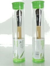 2x Beauty 360 Bamboo Foundation Brush Natural Wood Handle