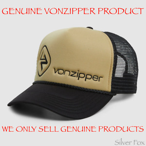VONZIPPER VON ZIPPER MOBY CLASSIC TRUCKER MESH SNAPBACK MENS ADULT CAP HAT