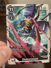 Digimon Card Game P-016 Diaboromon P Promo Tournament Pack Vol. 1 ENGLISH NM