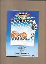 Fife Flyers v Cleveland Bombers Programme 8th March 1986 *Mint*