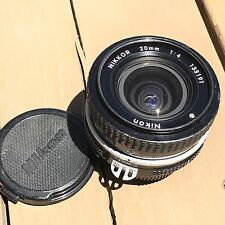 Nikon Nikkor 20mm f1:4 Manual Focus Prime Lens 133191 with caps