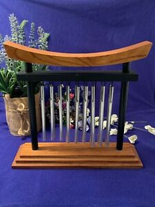 Woodstock Tranquility Table Chime (18 Chimes) 9-1/4 x 10 x 3~Beautiful Condition