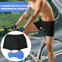Men Cycling Shorts Bicycle Bike Underwear Pants With Sponge Gel 3D Padded Shorts