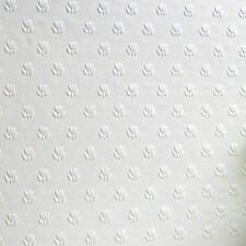 RD353 Anaglypta Salisbury Paintable Textured Wallpaper Wallcovering White