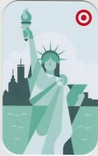 Target New York City NYC Statue of Liberty Skyline 2019 Gift Card 790-01-2644