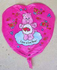 """Care Bear Helium Balloon 17""""x 17"""" 1983 Superloon Mfg 1983"""